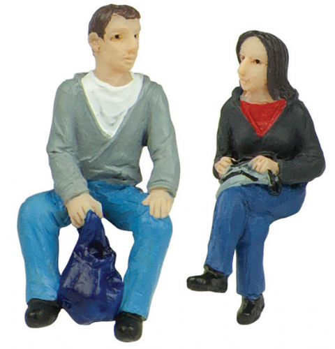 47-404 Scenecraft Sitting passengers A (pack of 2 figures)